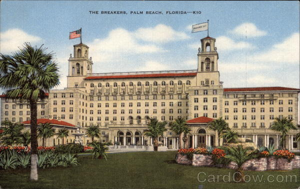 The Breakers Palm Beach Florida