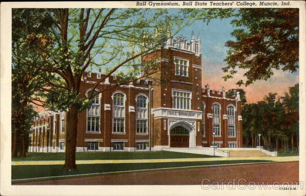 Ball Gymnasium, Ball State Teacher's College Muncie Indiana
