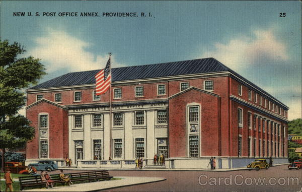 New U. S. Post Office Annex Providence Rhode Island
