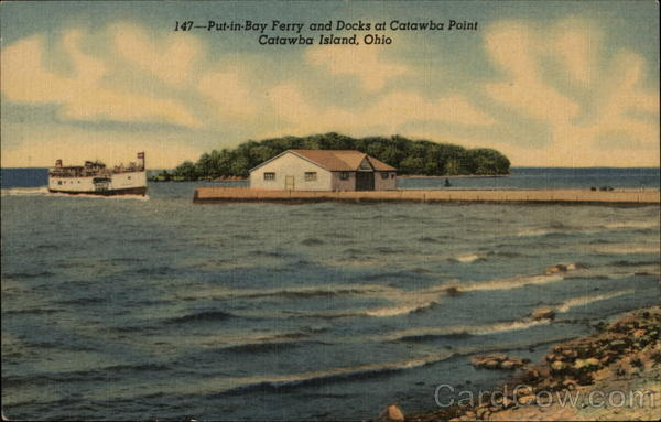 Put-in-Bay Ferry and Docks Catawba Island Ohio