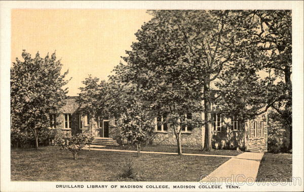 Druillard Library of Madison College Tennessee