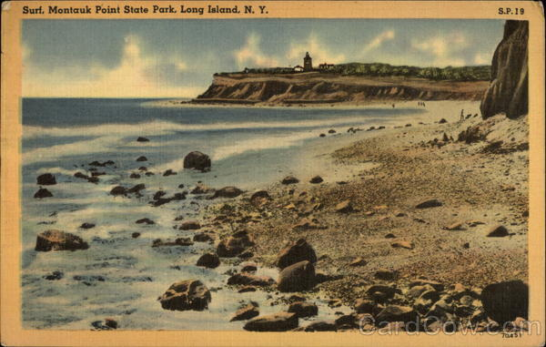 Surf, Montauk Point State Park Long Island New York