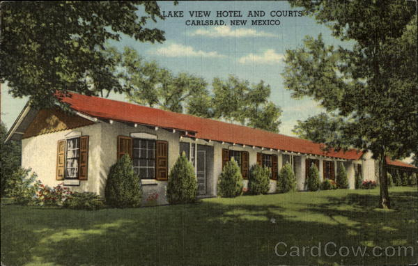 Lake View Hotel and Courts Carlsbad New Mexico