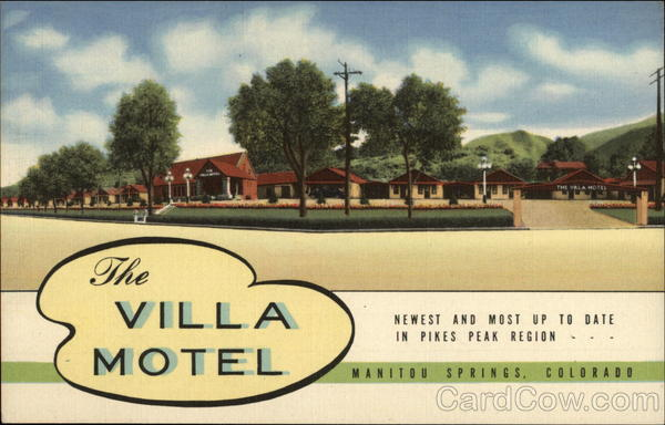 The Villa Motel Manitou Springs Colorado