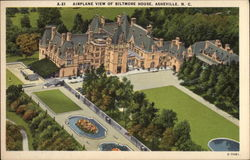 Airplane View of Biltmore House