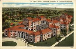 The Women's Dormitory: University of Colorado at Boulder