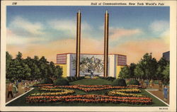 Hall of Communications, New York World's Fair Postcard