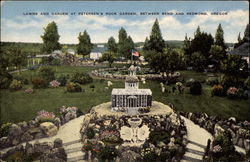 Lawns and Garden at Petersen's Rock Garden
