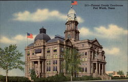 Tarrant County Courthouse Postcard