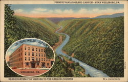 Pennsylvannia's Grand Cayon Near Wellsboro