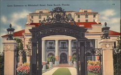 Gate Entrance to Whitehall Hotel