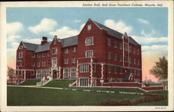 Lucina Hall, Ball State Teachers College