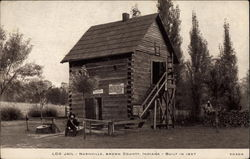 Log Jail, Brown County, Built in 1837