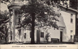 Quaker Hill, A Friendly Center Postcard