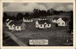 East Circle of Cottages, Dunkirk Conference Grounds