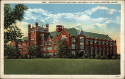 Administration Building, University of Idaho Postcard