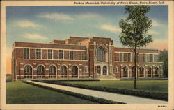 Rockne Memorial, University of Notre Dame Postcard