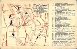 Map of The Crestwood at Rutland, Vermont