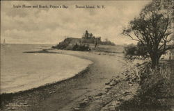 Light House and Beach, Prince's Bay