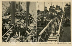 Seabees at Sea and at Disembarkation Point