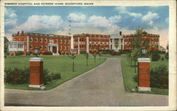 Webber Hospital and Nurses' Home