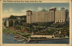 Hotel Westlake and Rocky River Bridge