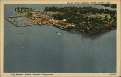 Aerial View, Indiana Beach, Shafer Lake