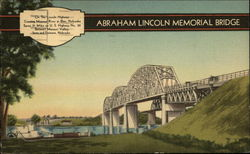 Abraham Lincoln Memorial Bridge Postcard