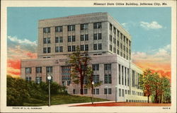 Missouri State Office Building Postcard