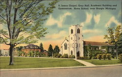 St. James Chapel, Gray Hall, Academic Building and Gymnasium, Howe School