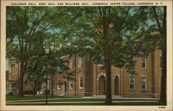 Callanan Hall, Eddy Hall and Williams Hall, Cazenovia Junior College