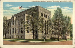 Administration Building: Indiana University