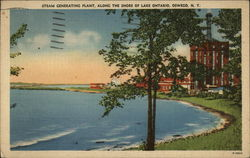 Steam Generating Plant, Along the Shore of Lake Ontario