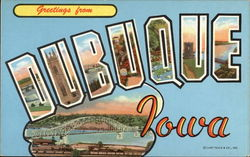 Greetings from Dubuque, Iowa