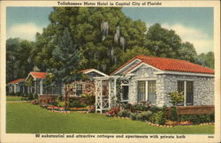 Tallahassee Motor Hotel in Capital City of Florida