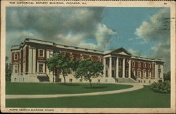 The Historical Society Building Postcard