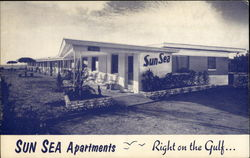 Sun Sea Apartments: Right on the Gulf