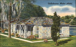 A Typical Cottage, Tallahassee Motor Hotel` Postcard