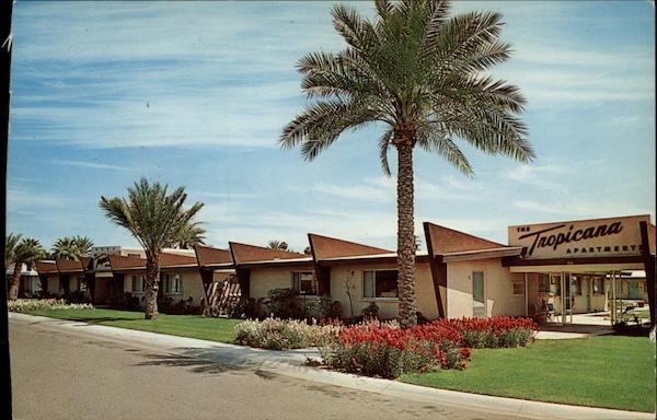The Luxurous Tropicana Apartments Phoenix Arizona Tom Reed