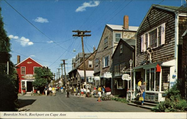 Bearskin Neck, Cape Ann Rockport Massachusetts Fred Jellison, Jr