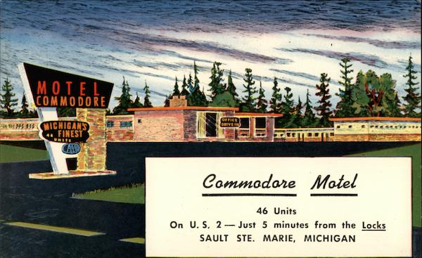 Commodore Motel Sault Ste. Marie Michigan