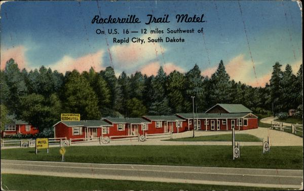 Rockerville Trail Motel Rapid City South Dakota
