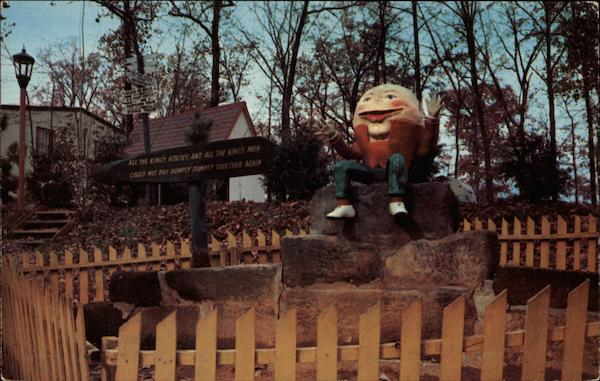 Humpty Dumpty in Santa Claus Land Indiana