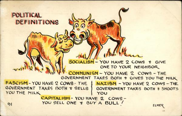 Political Definitions Elmer Anderson Comic, Funny