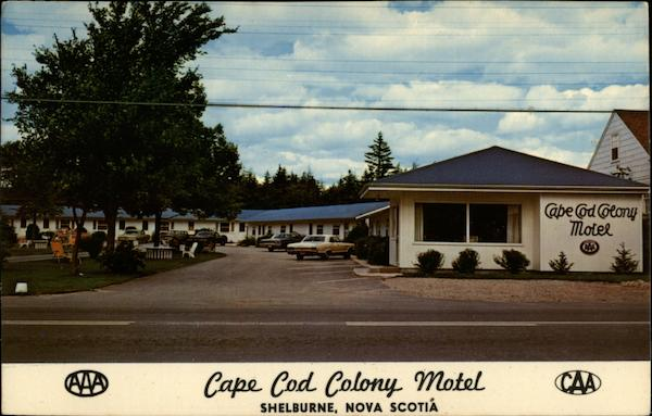 Cape Cod Colony Motel Shelburne Canada Nova Scotia