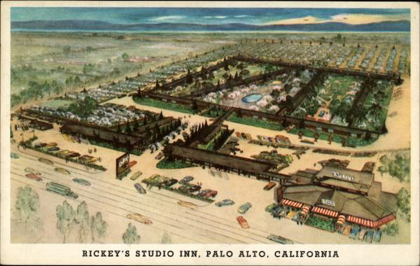 Rickey's Studio Inn Palo Alto California