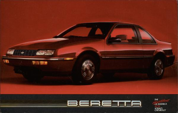 Chevy Beretta Cars