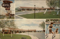 Alpine Motel Postcard