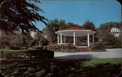 The Bandstand in the Park Postcard