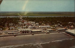 Aerial View of Folly Beach